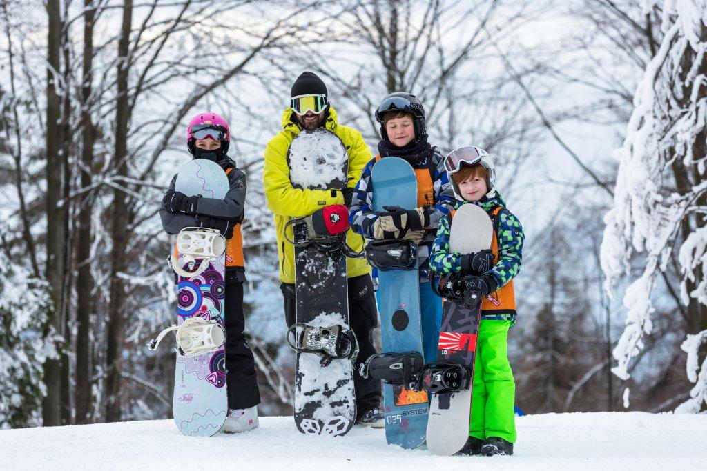SnowWeek - kurs snowboardowy